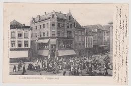 's-Hertogenbosch - Pensmarkt Met Veel Volk - 1905 - 's-Hertogenbosch