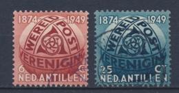 Nederlandse Antillen/Netherlands Antilles 1949 Mi: 4-5 Yt: 200-201 Nvph: 209-210 (Gebr/used/obl/o)4366) - Curaçao, Nederlandse Antillen, Aruba