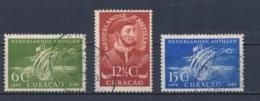 Nederlandse Antillen/Netherlands Antilles 1949 Mi: 1-3 Yt: 197-199 Nvph: 206-208 (Gebr/used/obl/o)4367) - Curaçao, Nederlandse Antillen, Aruba