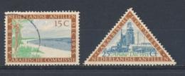 Nederlandse Antillen/Netherlands Antilles 1955 Mi: 50-51 Yt: 243-244 Nvph: 255-256 (Gebr/used/obl/o)4368) - Curaçao, Nederlandse Antillen, Aruba