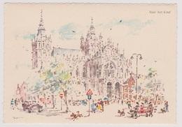 's-Hertogenbosch - Illustratie Basiliek St. Jan - 's-Hertogenbosch