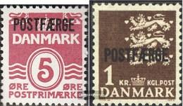 Denmark PA25II,PA34II Without Serifen Unmounted Mint / Never Hinged 1941 Postfähremarken - 1913-47 (Christian X)