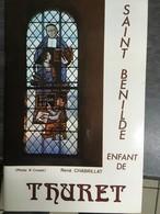 - Eglise D' Auvergne - St Bénilde - 1979 - Thuret - Histoire Et Archéologie - René Chabrillat - - Auvergne