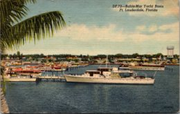 Florida Fort Lauderdale The Bahia-Mar Yacht Basin 1953 Curteich