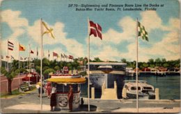 Florida Fort Lauderdale The Bahia-Mar Yacht Basin With Sightseei