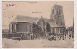 Woudrichem - Hervormde Kerk Met Volk - Zeer Oud - Nederland