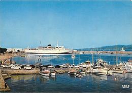 CPA-1960-FERRY-PAQUEBOT -LIAISION - CORSE-Le NAPOLEON- PORT PROPRIANO-Edit Iris -TBE - Ferries