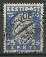 Estland Estonia 1936 O NARVA-JÕESUU Michel 123 - Estland