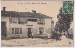 JUVIGNY SUR LOISON (55) : HOTEL ET CAFE BRAFORT - PHOTO EDITEUR CONCELIN PAGNY SUR MOSELLE - ECRITE EN 1913 - 2 SCANS - - France