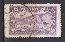 Colonies Françaises - SYRIE -  1930 - Timbre Oblitéré N° YT 203 - Prix Fixe Cote 2017 à 15% - Gebraucht