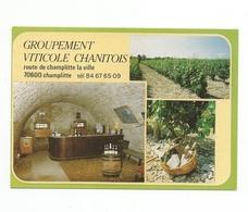 CPM - CHAMPLITTE (70) GROUPEMENT VITICOLE CHANITOIS (cave) Carte Publicitaire - Frankreich