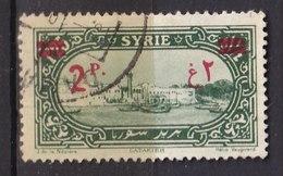 Colonies Françaises - SYRIE -  1928 - Timbre Oblitéré N° YT 189 - Prix Fixe Cote 2017 à 15% - Gebraucht