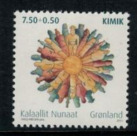 "Groenland 2011 // Association D'artistes ""Kimik""  Timbre Neuf ** MNH No.554 Y&T - Neufs"