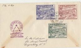 PHILIPPINES FDC 1951 Imperforated Serie.BARGAIN.!! - Filippijnen