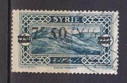 Colonies Françaises - SYRIE -  1926 - Timbre Oblitéré N° YT 182 - Prix Fixe Cote 2017 à 15% - Gebraucht