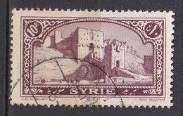 Colonies Françaises - SYRIE -  1925 - Timbre Oblitéré N° YT 165 - Prix Fixe Cote 2017 à 15% - Gebraucht