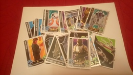Lot Cartes TOPPS Star Wars Force Attax 2015 (25 Cartes) - Star Wars