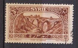 Colonies Françaises - SYRIE -  1925 - Timbre Oblitéré N° YT 163 - Prix Fixe Cote 2017 à 15% - Syrie (1919-1945)