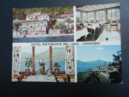 19921) CANNOBIO HOTEL RISTORANTE DEL LAGO NON VIAGGIATA - Verbania