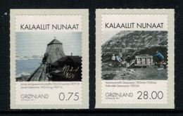 Groenland 2011 // Extraction Minière Au Groenland Timbres Neufs ** MNH No.574-575 Y&T - Neufs