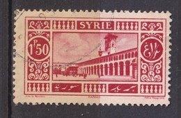 Colonies Françaises - SYRIE -  1925 - Timbre Oblitéré N° YT 160 - Prix Fixe Cote 2017 à 15% - Syrie (1919-1945)