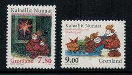 Groenland 2011 // Noël 2011 Timbres Neufs ** MNH No.576-577 Y&T - Neufs