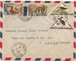Fort-Gouraud 1964 Mauritanie - Lettre Avec Taxe - Cover Brief - Mauritanie (1960-...)