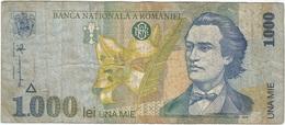Rumanía - Romania 1,000 Lei 1998 Pk 106 Ref 1 - Rumania