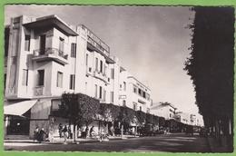Belle CPSM MEKNES Avenue De La République Majestic Hotel Animation Maroc Format CPA - Meknes