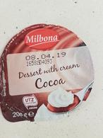 Dessert Withc Cream Cocoa Top - Coperchietti Di Panna Per Caffè