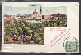Postkaart Van Alexandrie Naar La Louviere - Égypte