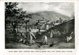 BASSANO DEL GRAPPA  VICENZA  Da Una Stampa Remondiniana Del 1827   Parte Superiore Vista Dall' Osteria Della Colomba - Vicenza