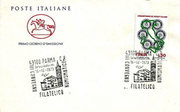 ITALIA - 1973 PARMA 3° Convegno Fil. Num. (duomo E Campanile) - Esposizioni Filateliche