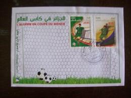 Algérie - FDC De 2014: Coupe Du Monde De Foot - Algérie (1962-...)