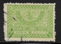Saudi Arabia Scott #160 Used Tughra Of King Aziz, 1934 - Saudi Arabia