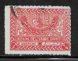 Saudi Arabia Scott #161 Used Tughra Of King Aziz, 1934 - Saudi Arabia