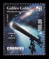 Bolivia 2014 Mih. 1979 Astronomer Galileo Galilei MNH ** - Bolivie
