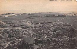 Tunisia Carthage Vue Sur La Goulette - Tunisia