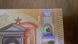 50 E Italy S014A1 UNC - 50 Euro