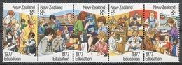 New Zealand 1977 Mi# 711-15** EDUCATION - Nouvelle-Zélande