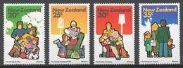 New Zealand 1981 Mi# 818-21** FAMILY - Nouvelle-Zélande