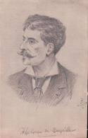 Dessin Original 14,3 X 9,2 Alphonse De Neuville - Saint Omer