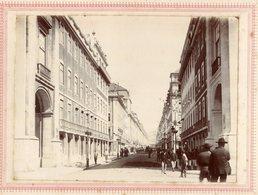 1898 Fotografia FEIRA FRANCA De LISBOA Centenário India / Vasco Da Gama RUA Da PRATA (?) Carroça. Old Photo PORTUGAL - Photos