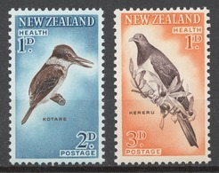 New Zealand 1960 Mi# 413-14C (Perf.11,5x11)** BIRDS - Nouvelle-Zélande