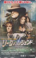 Carte Prépayée Japon - Cinéma Film - LEAFUE OF LEGENDS - Japan Movie Prepaid Tosho Card - 11255 - Cinéma