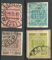 ESTLAND ESTONIA 1918/1919 Michel 1 - 4 O - Estland