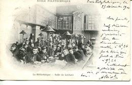 """75-PARIS - Ecole Polytechnique """" La Bibliothèque- Salle De Lecture"""" - Education, Schools And Universities"""