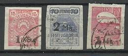 ESTLAND ESTONIA 1920 Michel 18 - 20 O - Estonia