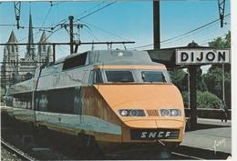 DIJON    -   LE T.G.V. En GARE De DIJON  -   Edition : YVON.  N° 10.21.0027 - Dijon