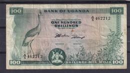 Uganda  Oeganda 100 Shillings P 5  Used - Banknotes
